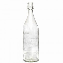 Botella cristal water
