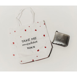 "Bolsa plegable ""Take me"" - Tous"