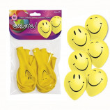 Pack de 10 globos smileys